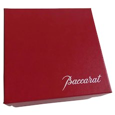 Vintage Baccarat Cherub Angel Wings Blowing Kiss New in Box