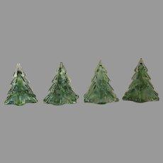 Vintage Prestige Art Glass Evergreen Christmas Tree