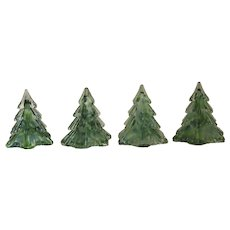 Vintage Prestige Art Glass Evergreen Christmas Tree
