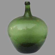 Vintage Large French Demijohn Bottle
