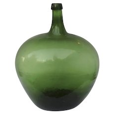 Vintage Large French Demijohn Bottle