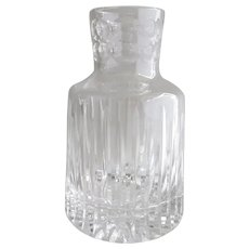Vintage Crystal Glass Decanter Carafe