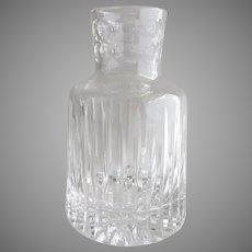 Vintage Crystal Glass Decanter Carafe