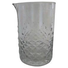 Vintage Libbey Glass Carat Bar Ware Mixing Cocktails Spout