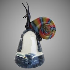 Art Glass Snail by Eric Bailey