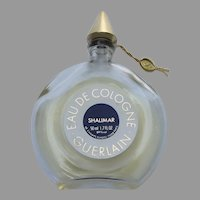 Vintage Guerlain Paris SHALIMAR (50ml) 1.7oz Women's Eau de Cologne