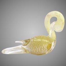 Italian Murano Glass Swan