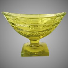 Anglo Irish small footed compote c 1810 Master Salt