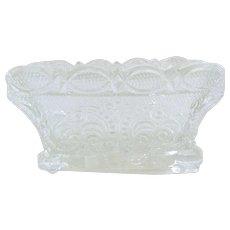 Sandwich Glass Open Salt 19th Century