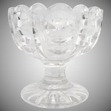 Late 19th Century Sandwich Glass Footed Compote
