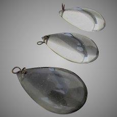 Vintage Chandelier Teardrop Glass Prisms (3)