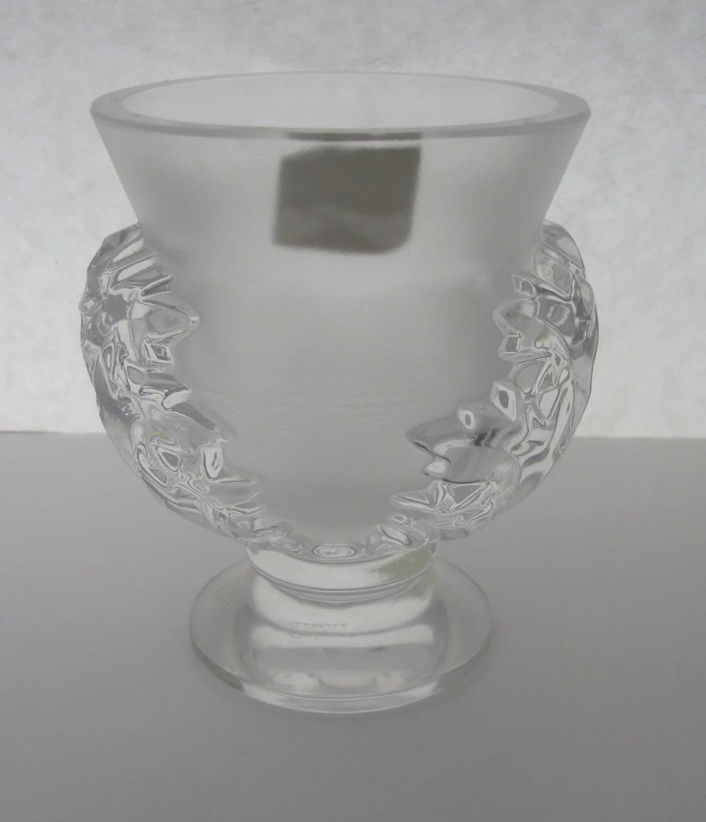 Lalique st cloud vase 1960s never used original labels black click to expand reviewsmspy