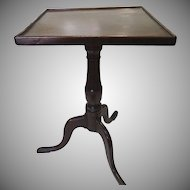 New England Candle Stand c1790