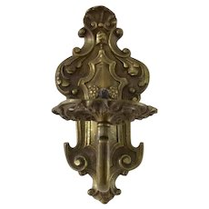 Vintage 1920's French Style One Arm Wall Sconce