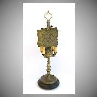 L.222 Four Arm Brass Whale Oil Lamp