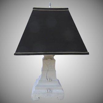 19th Century Blanc de Chine Vase Now as a Lamp