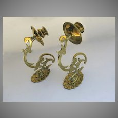 English Brass Sconces Articulated Swing Swivel