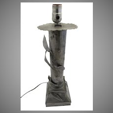 Mexican Tin Lamp