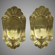 Vintage Mottahedeh Pair of Wall Sconces
