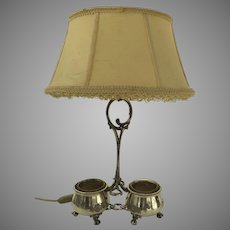 19th Century Condiment Cruet Stand now as a Lamp