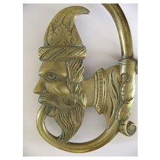 Huge Dutch or English Brass Chandelier 19th Century