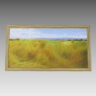 Oil on Canvas By Stefano Butera Italian Landscape