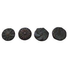 Bronze Knob Plugs Decorations by William Hunter Decorations