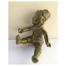 Bronze Figure of a Baby