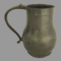 Charming 19th Century Pewter French Aged Patina