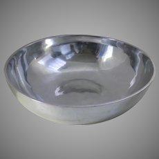 Very Large Vintage Nambe Bowl Discontinued El Supremo Bowl #583