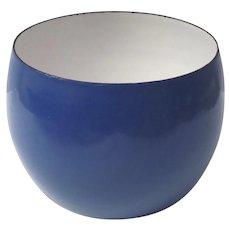 Mid Century Dansk Dark Blue Enamel Kobenstyle Bowl