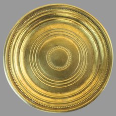 Vintage Brass Coasters Made in Italy