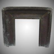 Copper Verdigris Fireplace Insert Arts & Crafts