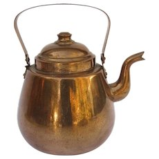 Vintage Copper Tea Kettle OPA FINLAND