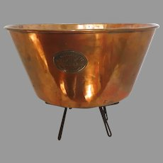 Copper Gaskell and Chambers Friar Filter Planter Original