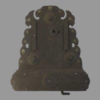 19th Century Large Iron Japanese Money Lock
