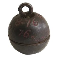 CENTENNIAL Toy Cap Bomb c 1876 Patent Manufactured by Ives