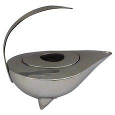 VINTAGE Iconic  Bodum Aladdin's Lamp Stainless Teapot by C Jørgensen Denmark