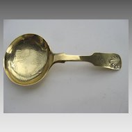 English Tea Caddy Spoon