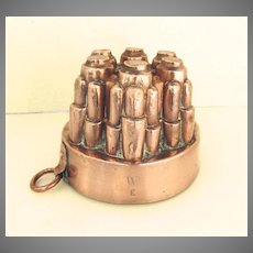 English 19th Century Copper Food Mold