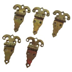 Vintage Beautiful Quality Brass Hinge