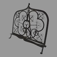 Hand Wrought Iron Early 19th Century Book Music Lectern Stand