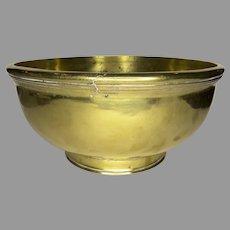 Large English or Dutch 18th Cast Bowl