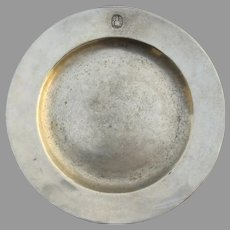 "Vintage Metal Plate Wilton 10.5"" Armetale"