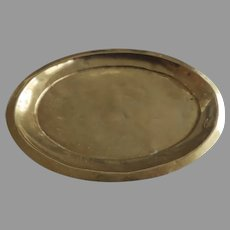 19th Century Small Oval Salver Tray