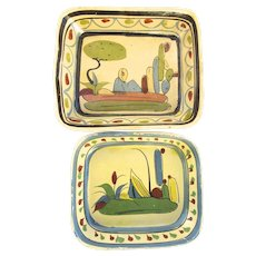Vintage Mexican Pottery Bowls