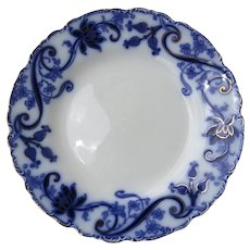 Andorra Flow Blue Plate English Johnson Bros.