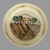 "Vintage Vietri Tuscany Large Bowl 13"" Diameter"