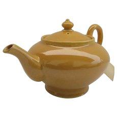 Vintage Bright Yellow Tea Pot
