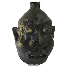 Lanier Meaders Signed Face Jug